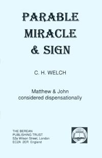 Parable, Miracle and Sign