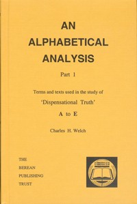Alphabetical Analysis